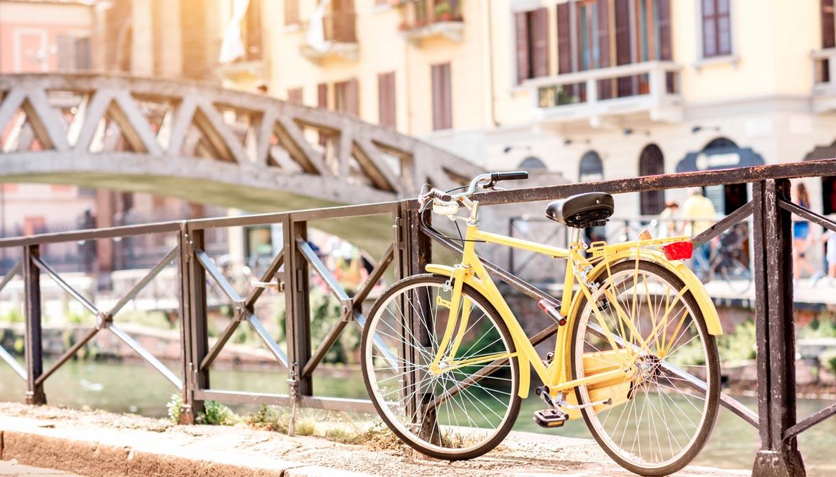 Milano, il progetto della ciclabile lungo i Bastioni