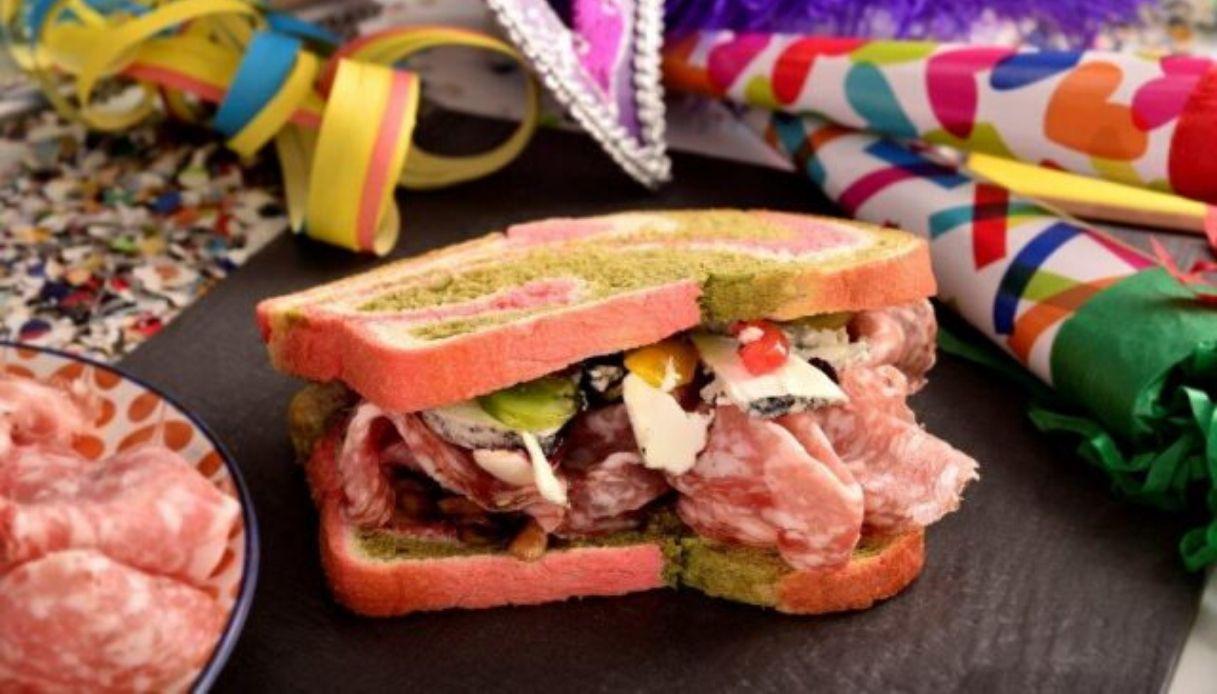Carnevale, le maschere tradizionali diventano gustosi panini