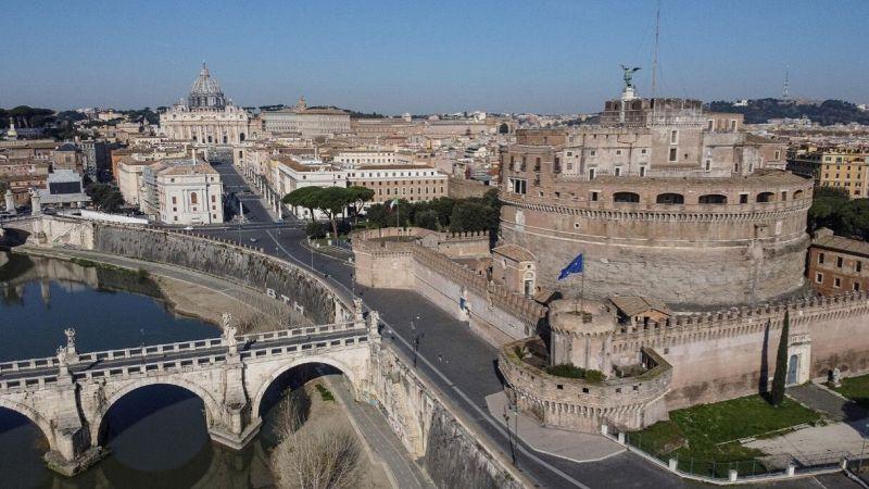 Coronavirus, Roma deserta vista dal drone: le immagini mozzafiato