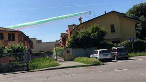 Frecce Tricolori a Codogno
