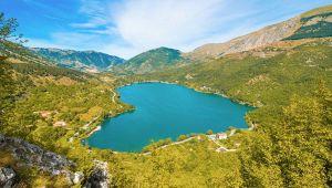 Lago di Scanno: L'Aquila