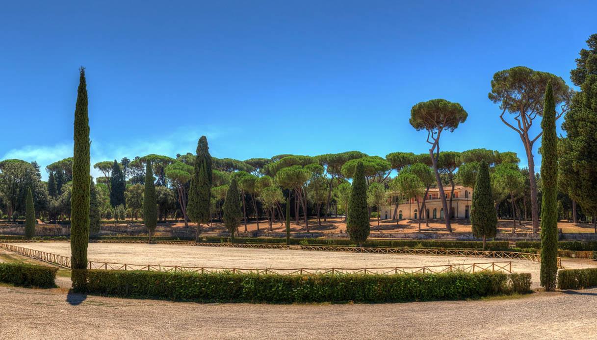 Piazza di Siena Villa Borghese