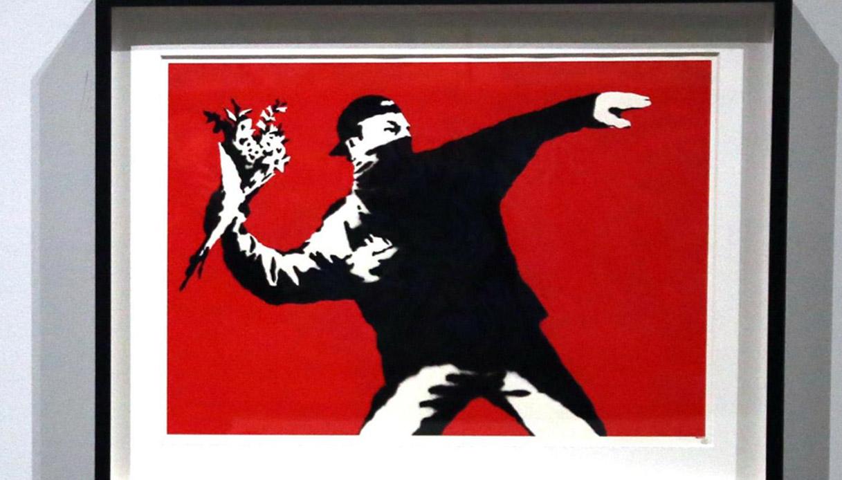 Sansepolcro, Banksy incontra Piero della Francesca