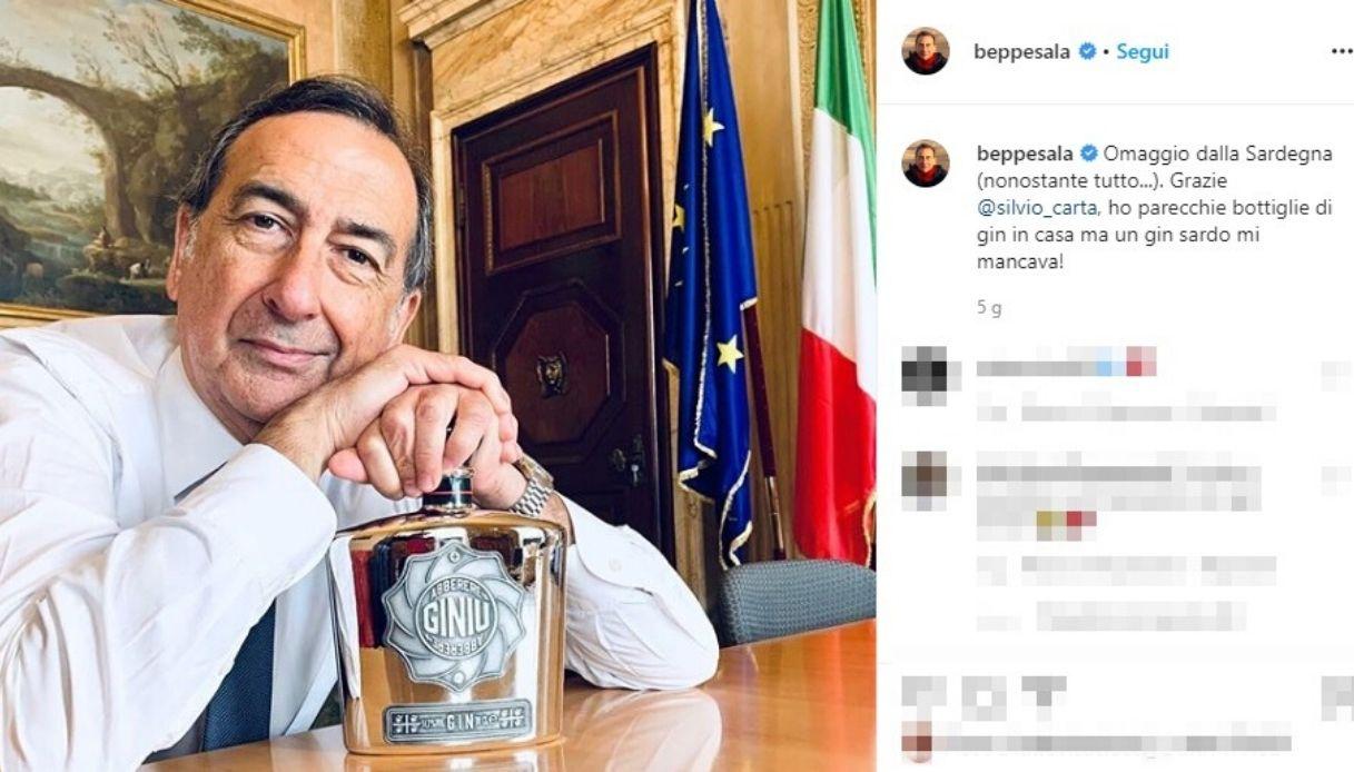 """Una bottiglia di gin ha fatto fare """"pace"""" a Milano e Sardegna"""