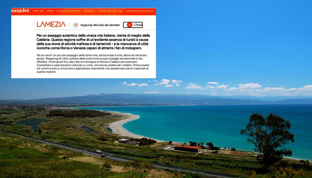 Calabria, le scuse di Easyjet dopo la gaffe su mafia e terremoti