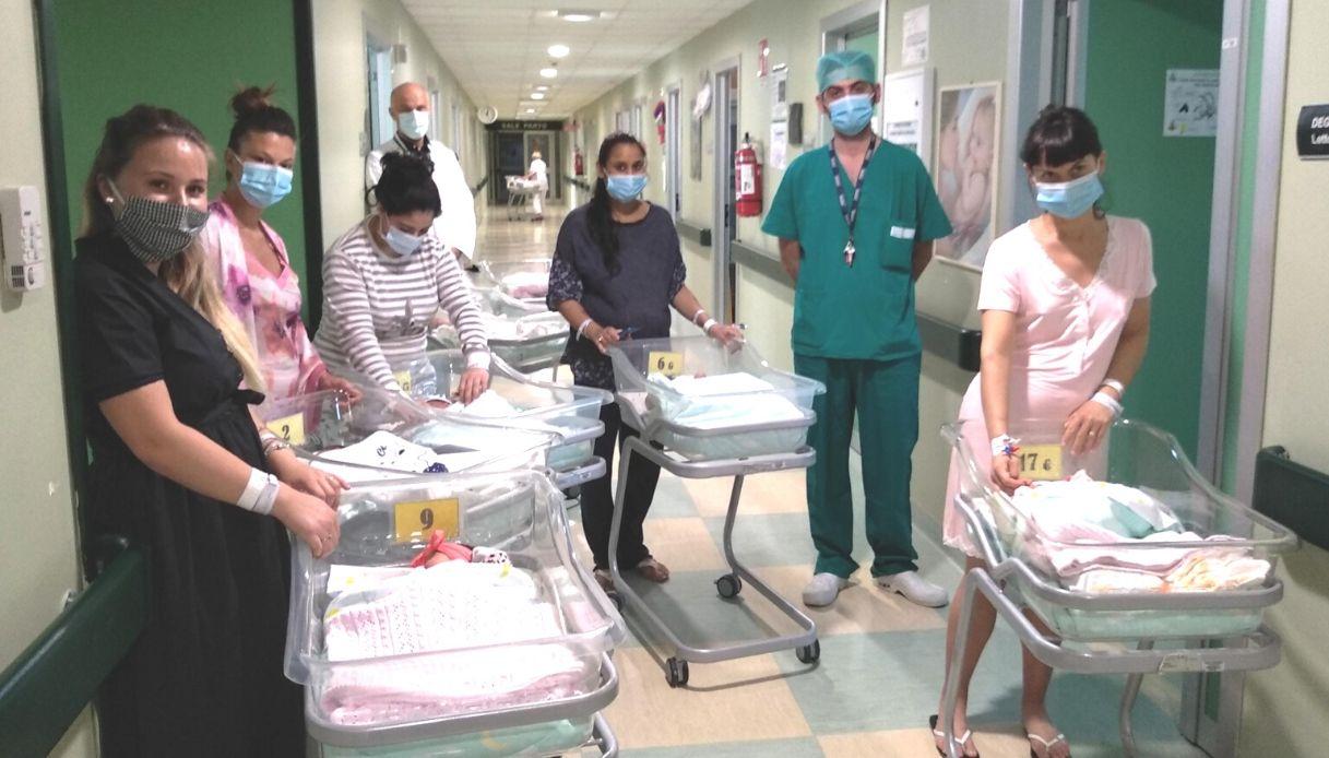 Cremona, record di parti in un giorno: 15 nascite in 24 ore