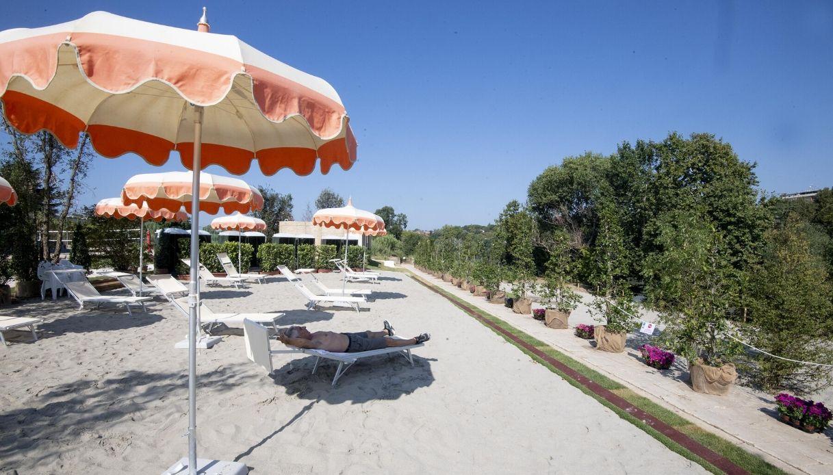 Roma: torna Tiberis, la spiaggia sul Tevere. Quando riapre e come