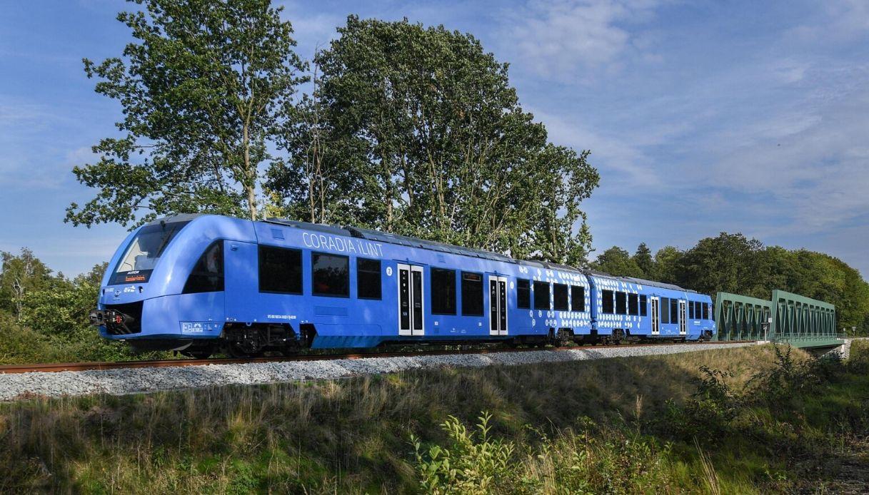 I treni a idrogeno arriveranno in Italia nel 2021