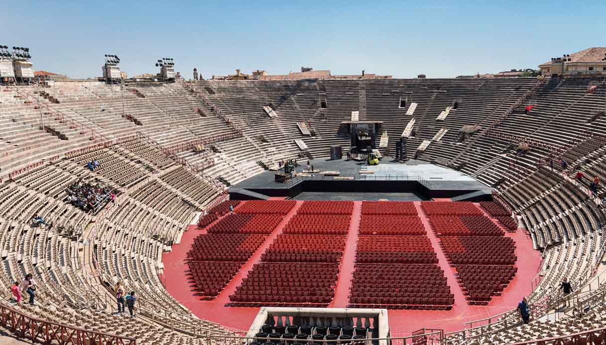 All'Arena di Verona il primo concertone in streaming a pagamento