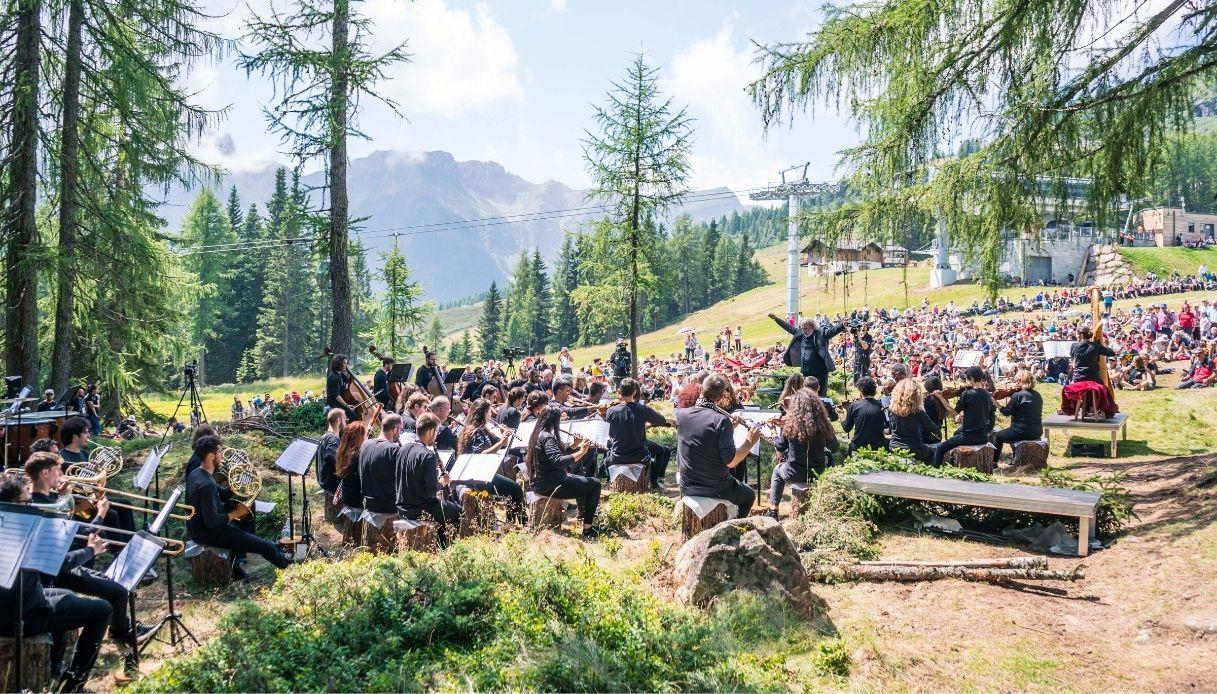 La mia Terra: le musiche di Ennio Morricone tra le Dolomiti