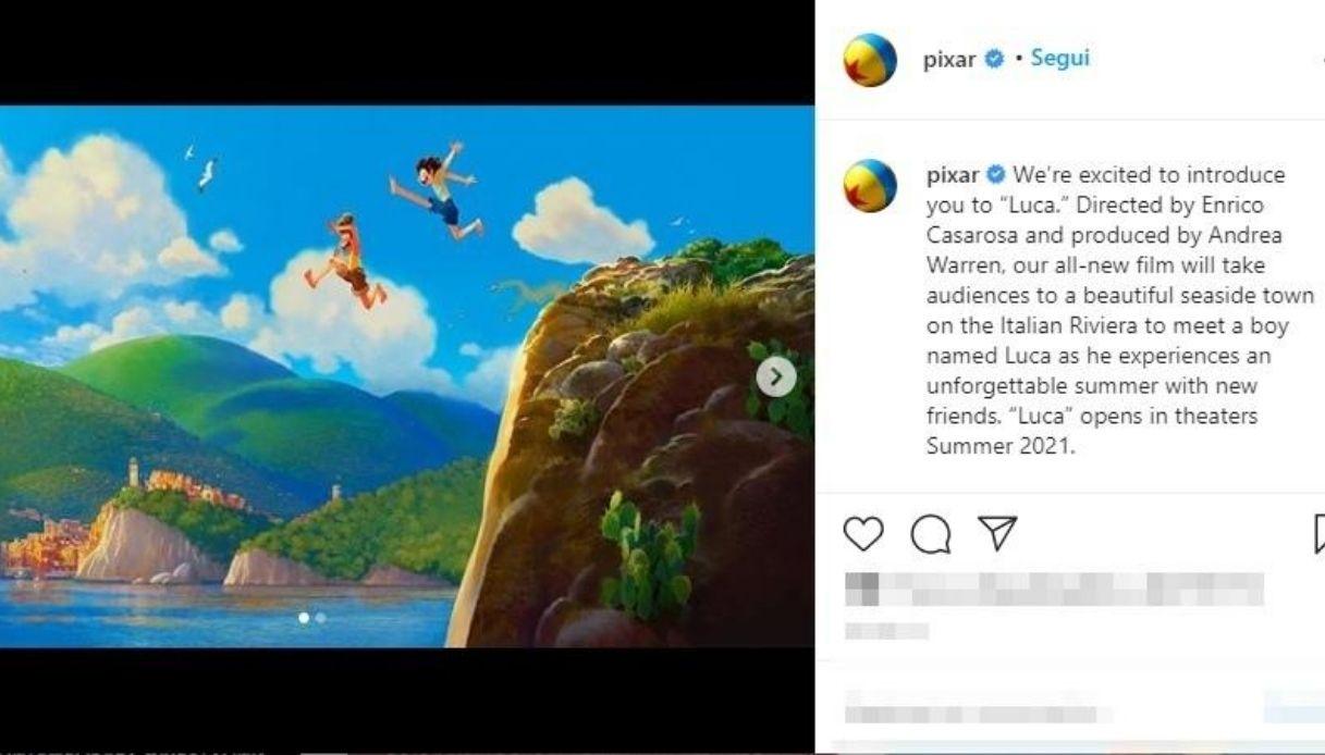 Luca, il nuovo film della Pixar è un omaggio all'Italia