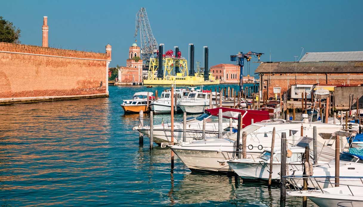 A Venezia arriva il barch-in, il primo drive-in italiano in barca