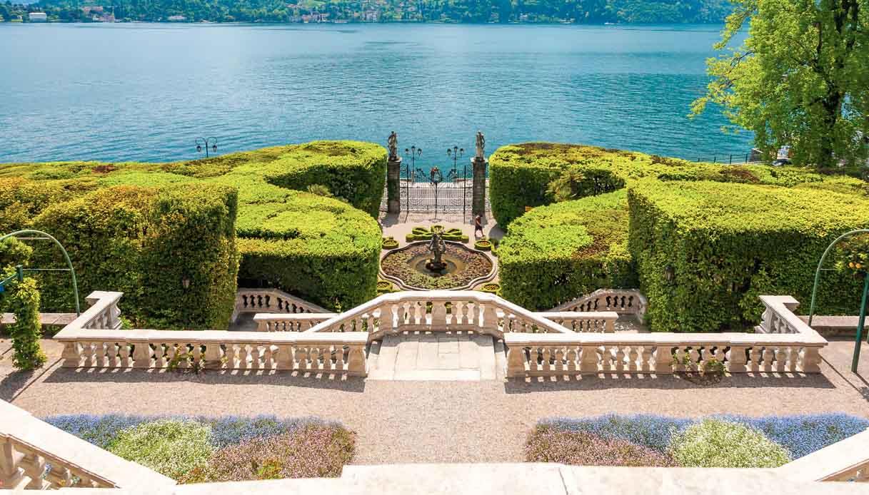 Lago di Como, piante in adozione per salvare Villa Carlotta