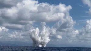 Savona, neutralizzata una bomba di aereo davanti alla costa