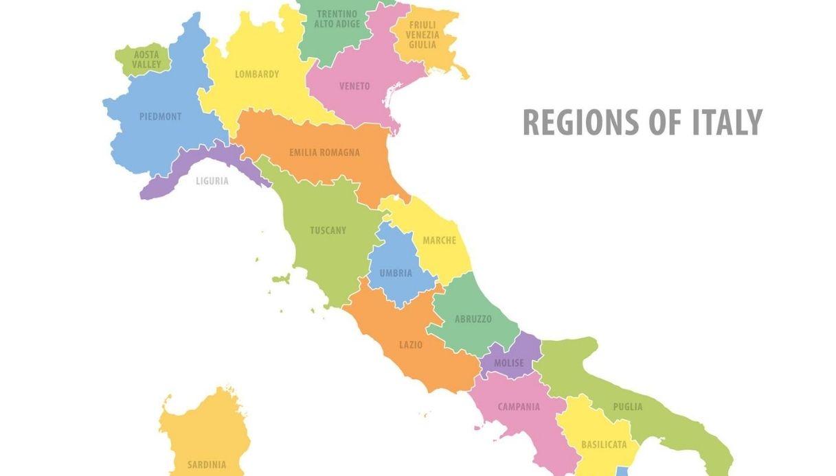 Cartina Italia Regioni E Province.Citta Peggiori E Migliori Nelle Regioni D Italia Le Mappe Virali