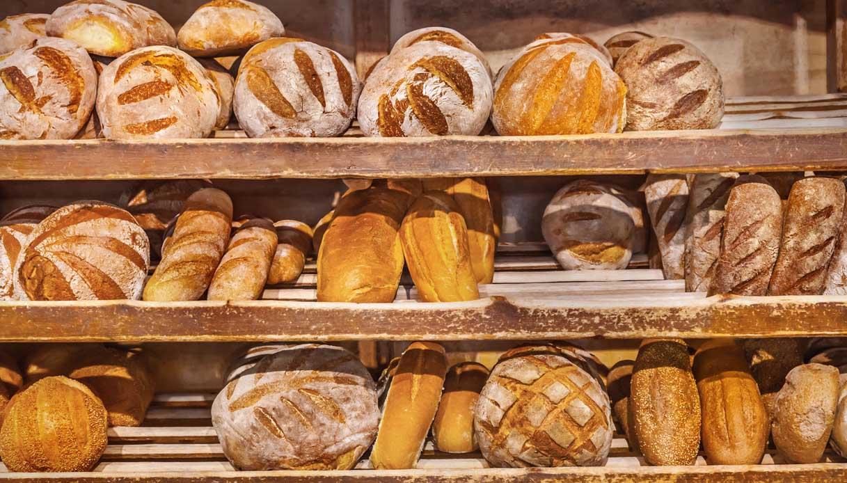 Pane italiano: l'allarme di Coldiretti