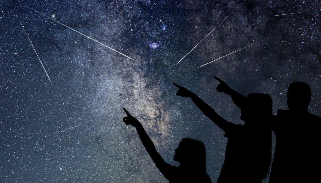 Stelle cadenti, dove vederle in Italia: le magiche notti di Lipu
