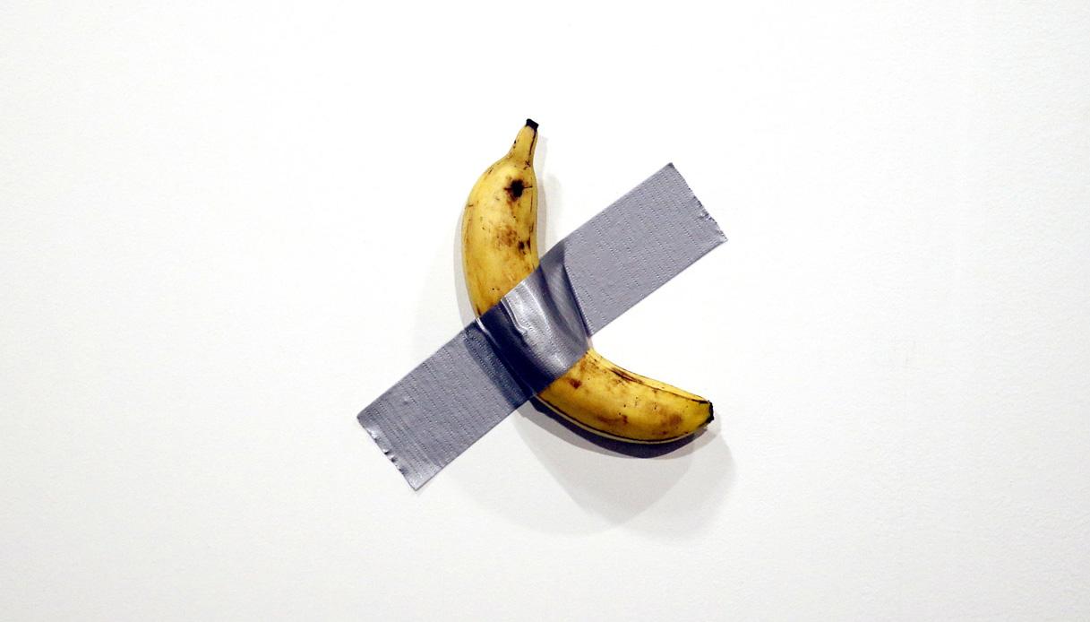 La Banana sul Muro di Cattelan approda al Guggenheim
