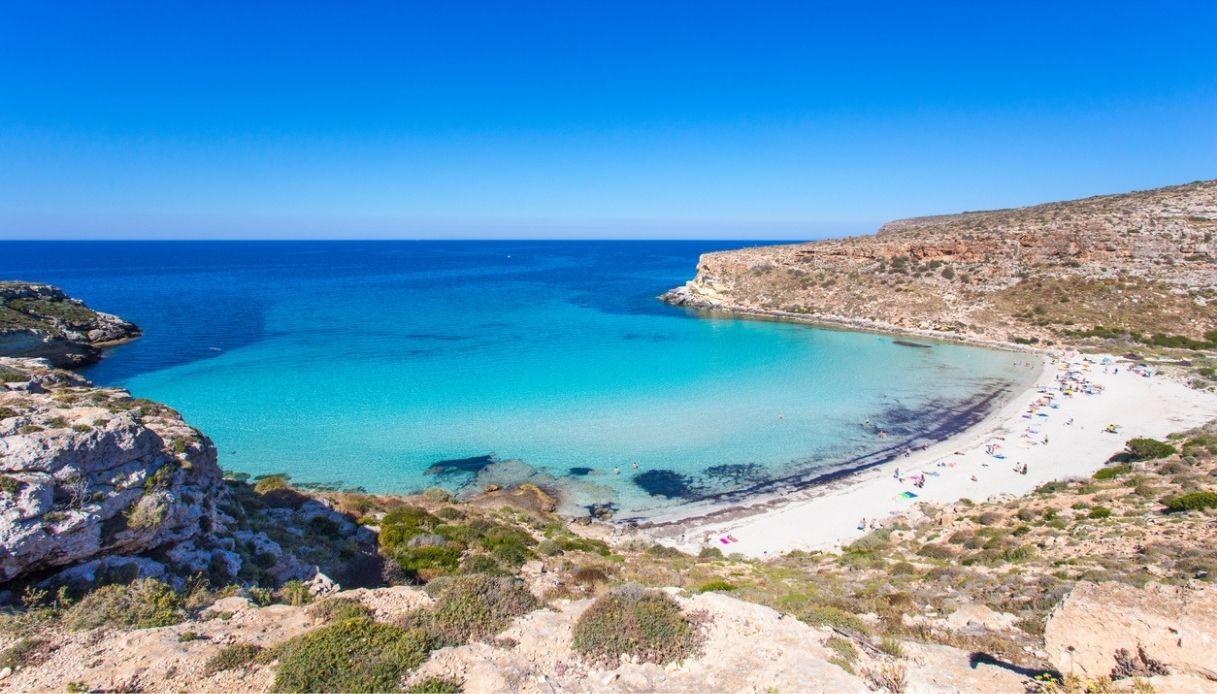 Lampedusa, in vendita la villa che fu di Domenico Modugno