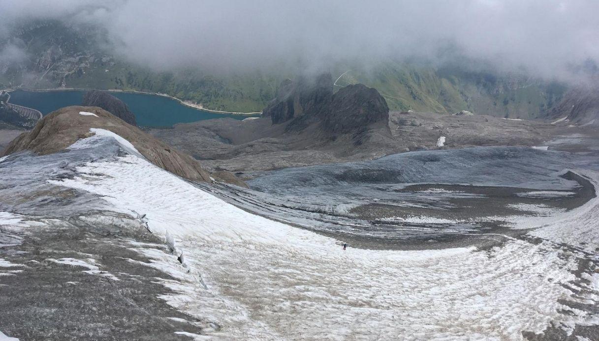 Allarme Marmolada: il ghiacciaio potrebbe scomparire tra 15 anni