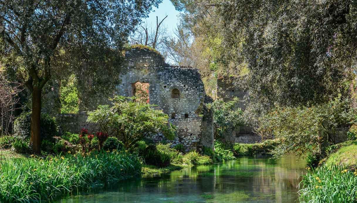 Il Giardino di Ninfa compie 100 anni: tutti gli eventi speciali