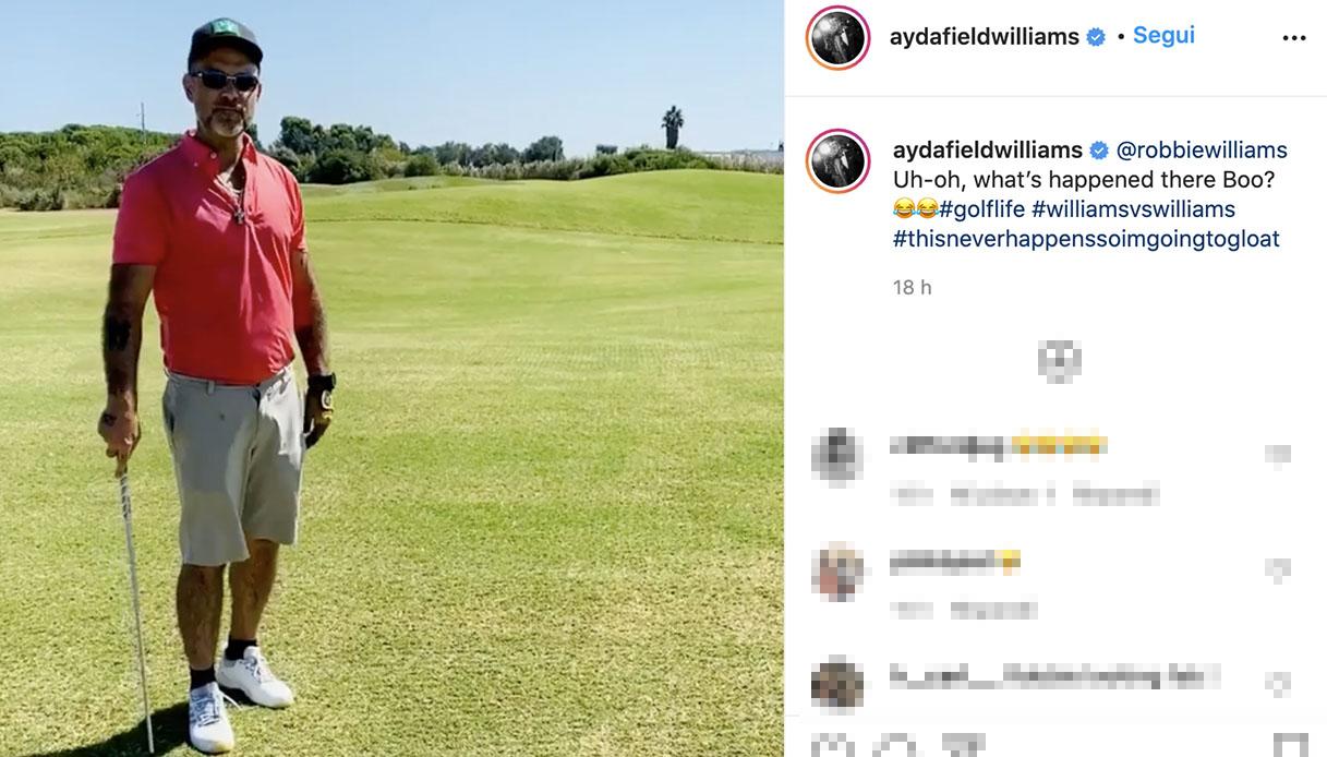 Robbie Williams è in Puglia? Il mistero in un post sui social