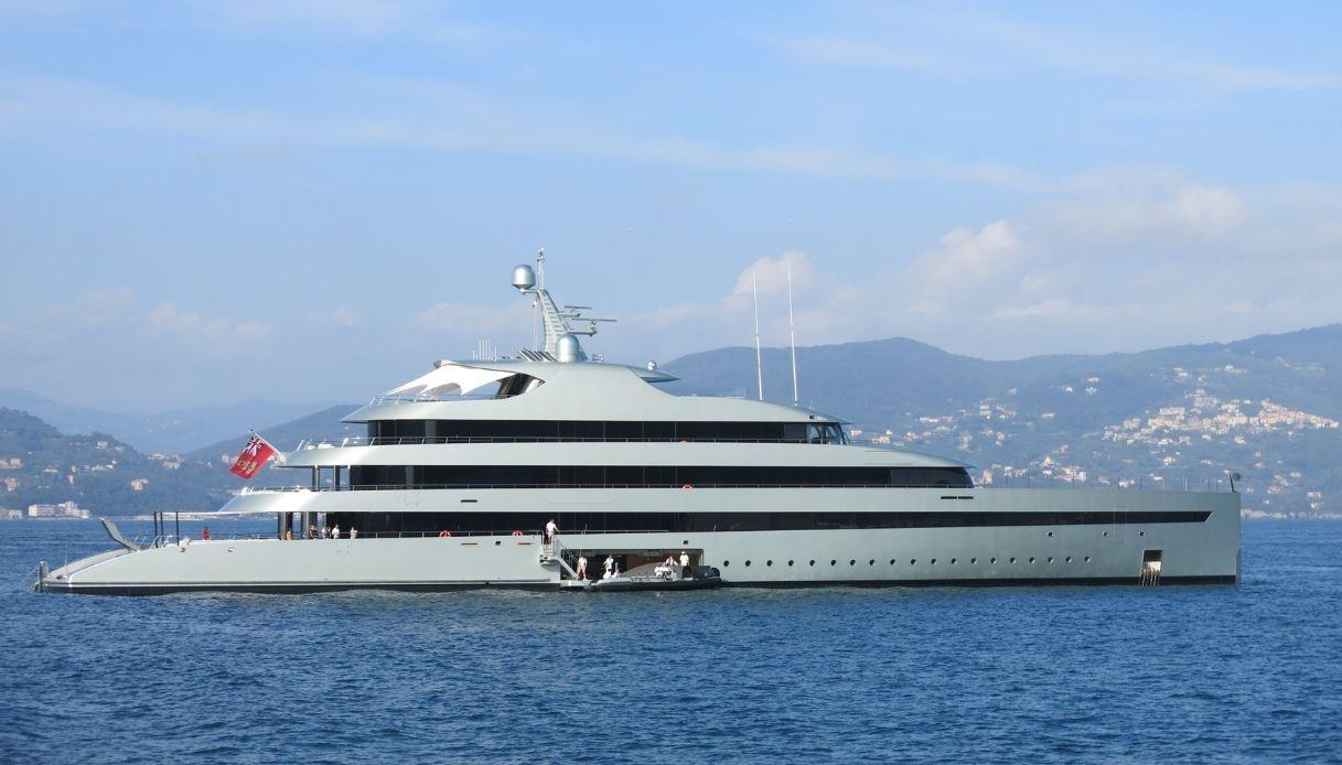 A Ostia arriva Savannah, super yacht da 100 milioni di dollari