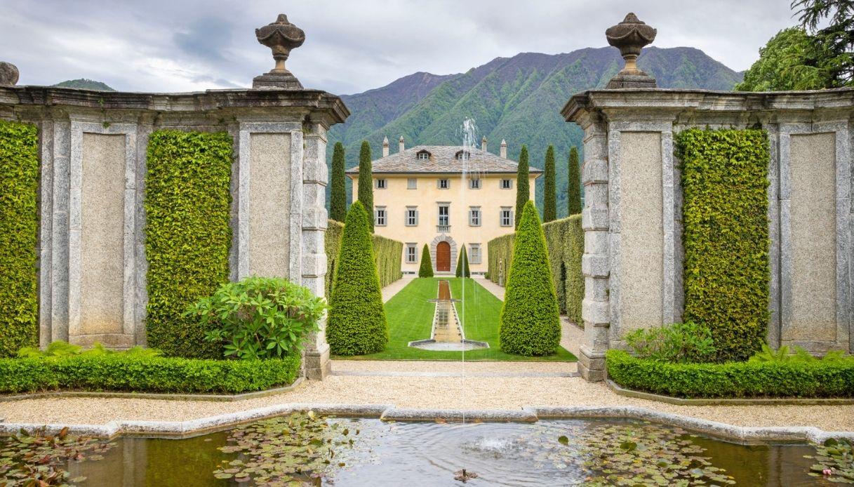Villa Balbiano, la location del matrimonio di Elettra Lamborghini