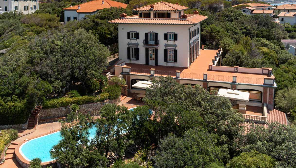 Sordi, in vendita la villa a Castiglioncello: costa 6 milioni