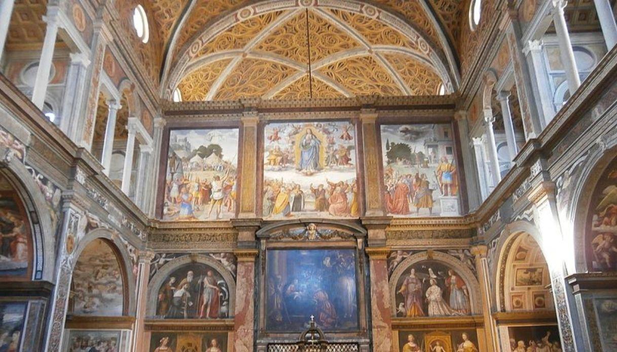 """Riapre la Chiesa di San Maurizio, la """"Cappella Sistina"""" di Milano"""