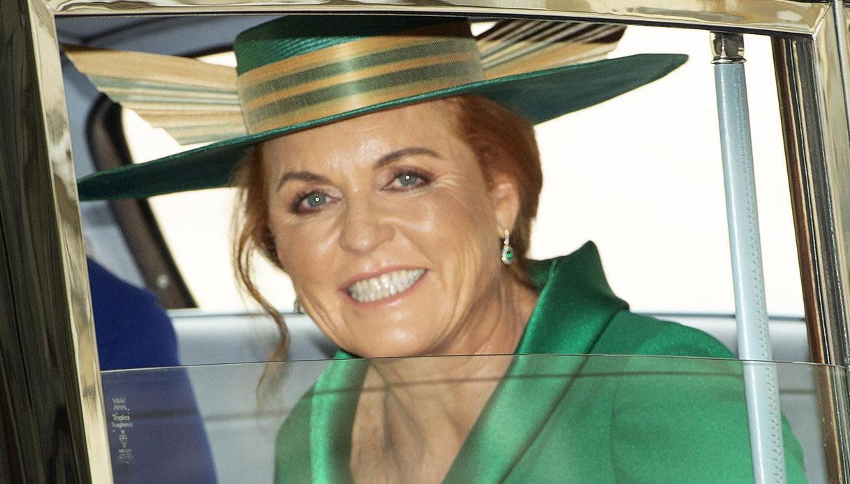 Sarah Ferguson partecipa alla vendemmia del Prosecco a Treviso