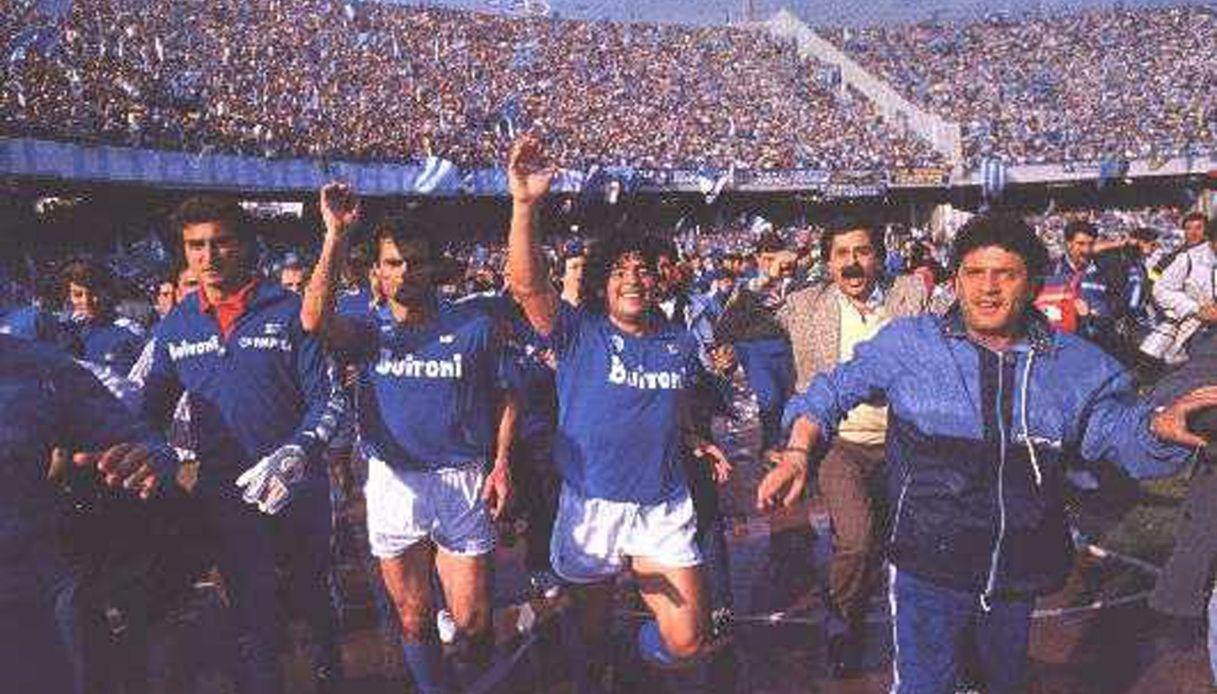 Diego Armando Maradona e lo stadio San Paolo