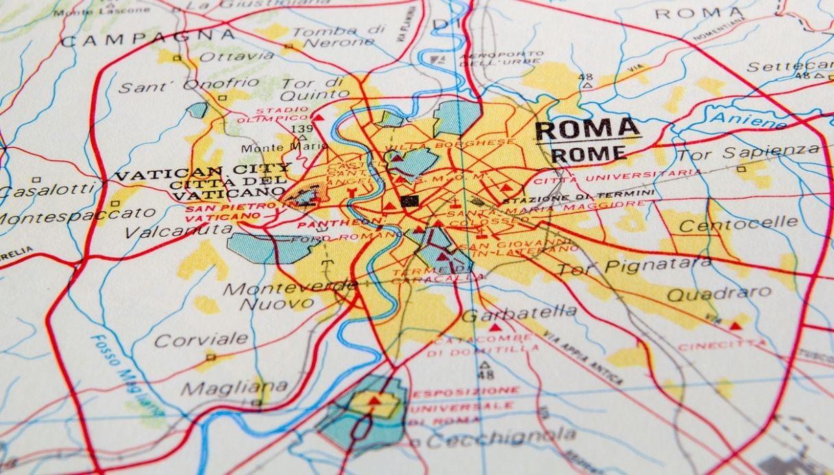 Roma Centro Cartina.Guida Ai Quartieri Di Roma Mappa E Luoghi Da Vedere