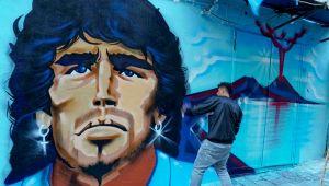 Napoli, nuovo murale per Maradona: è nel rione Sanità