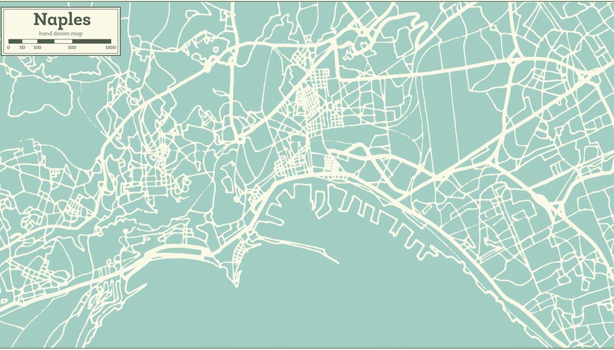 Cartina Vomero Napoli.Guida Ai Quartieri Di Napoli Mappa E Luoghi Da Vedere