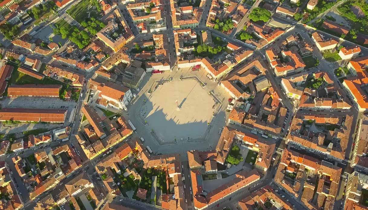 Palmanova, il borgo a forma di stella