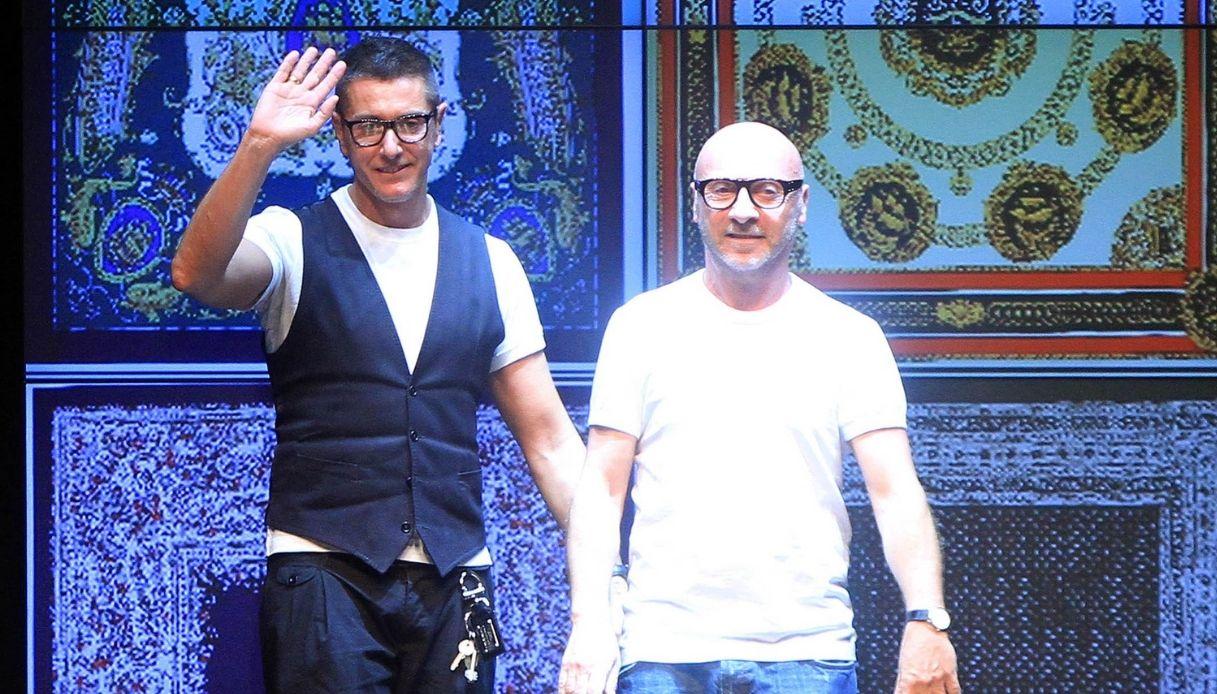 Domenico Dolce e Stefano Gabbana