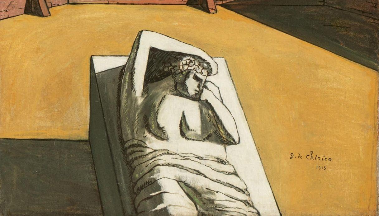 Giorgio De Chirico, Il Pomeriggio di Arianna