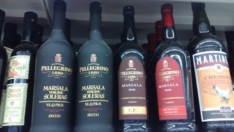 Bottiglie di Marsala