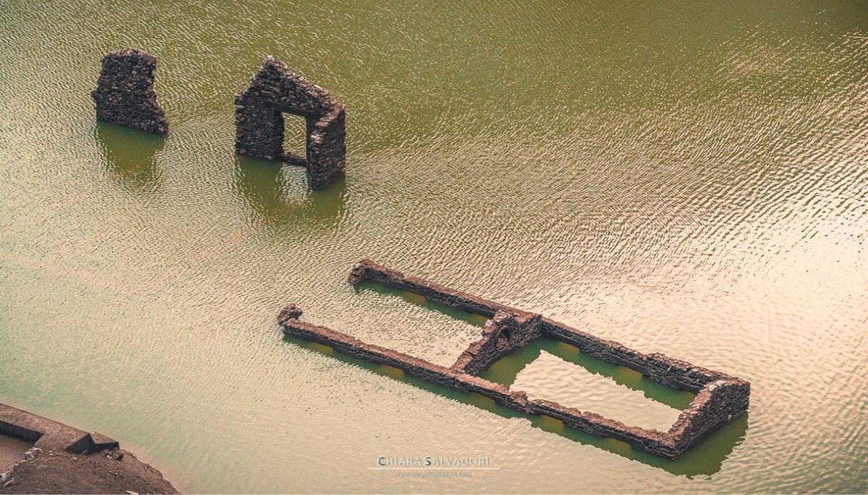 Le rovine di Osiglia