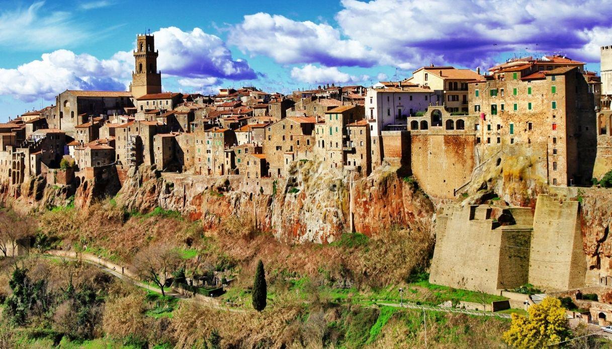 Pitigliano in Toscana