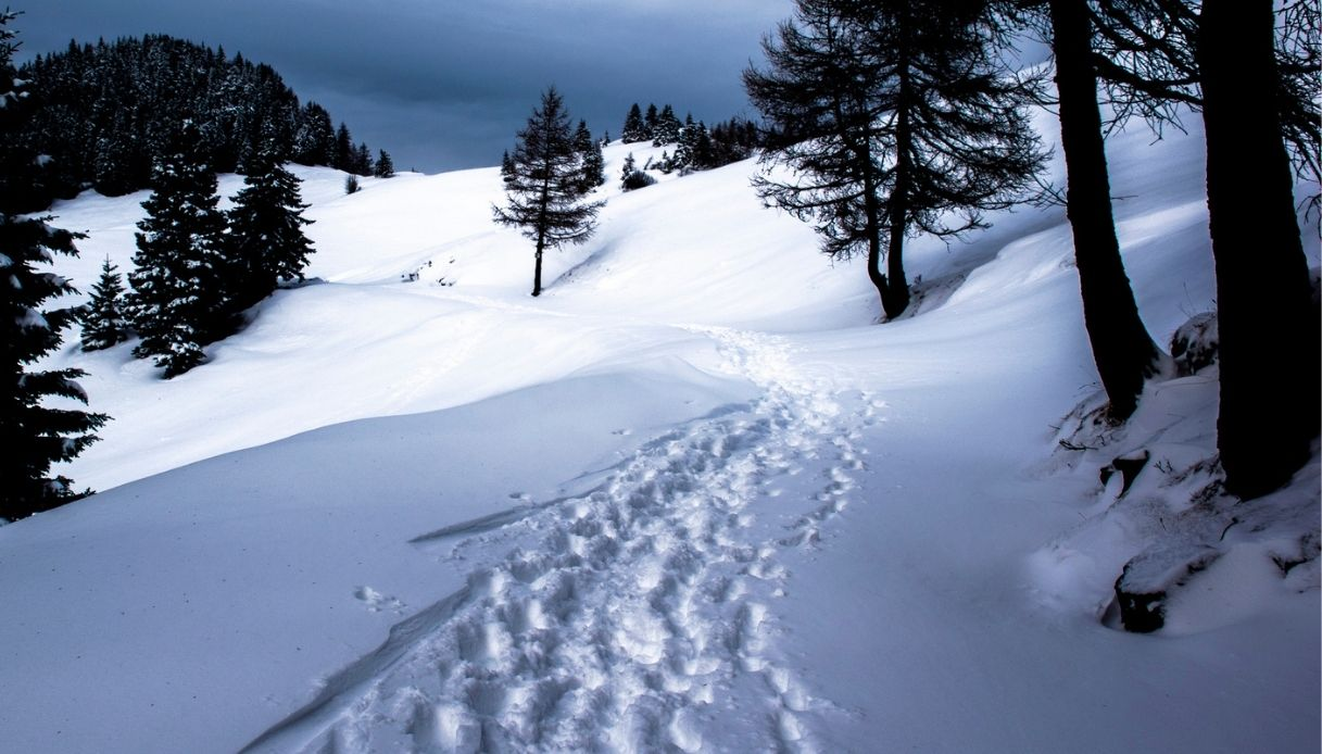 Freddo record sull'Altopiano d'Asiago