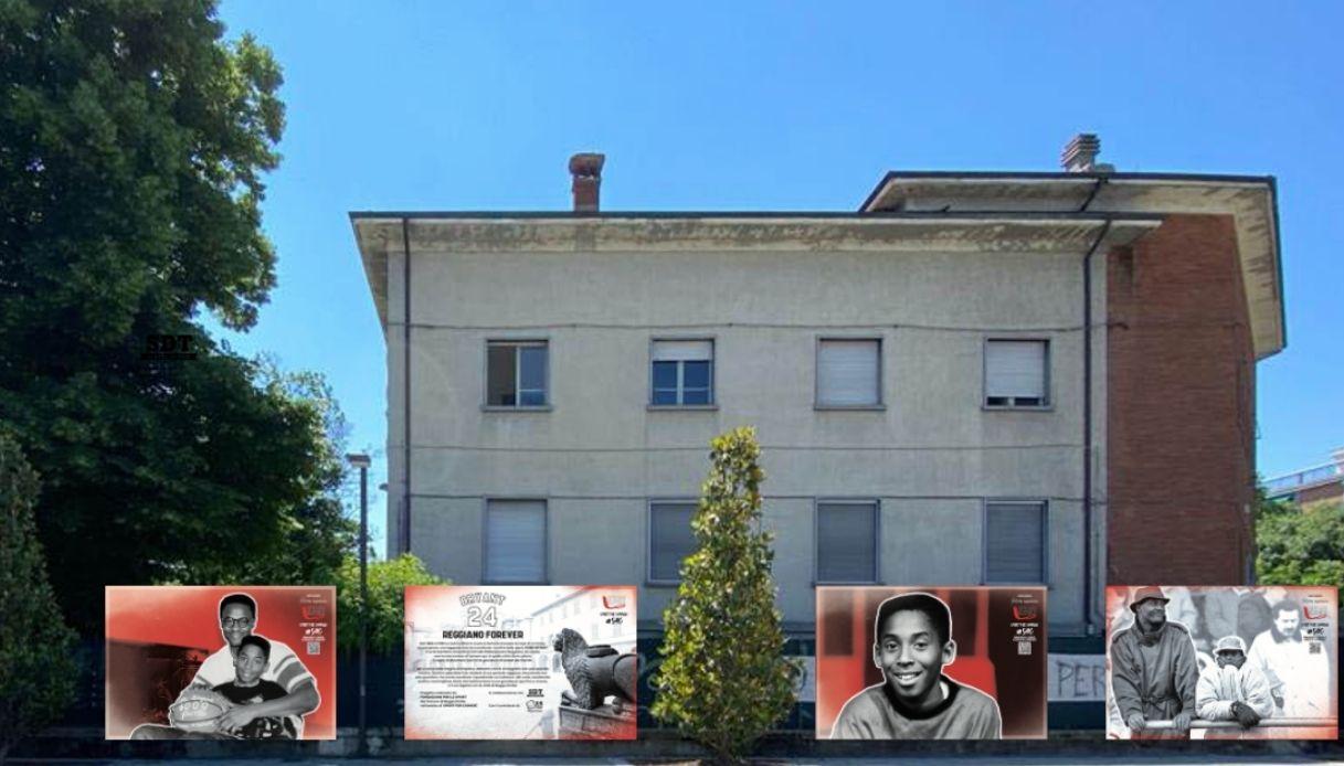 Piazza Kobe Bryant: la prima al mondo è a Reggio Emilia