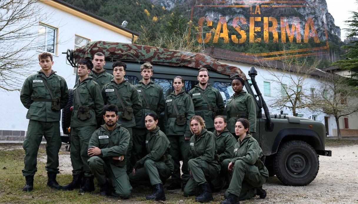 Il programma Rai 2 La Caserma ambientato a Levico