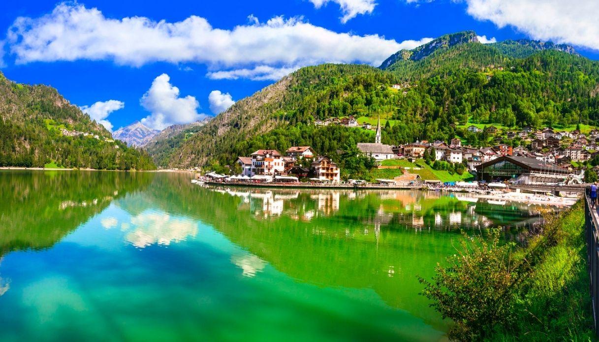 Lago di Alleghe, 250 anni tra storia e leggenda