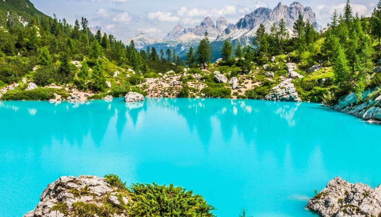 Dolomiti: Lago Sorapis