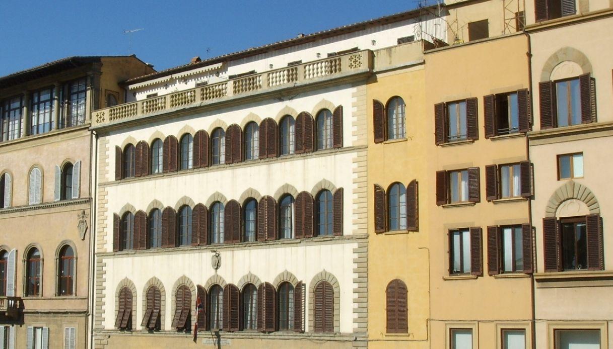 Palazzo Gianfigliazzi Bonaparte dove ha vissuto Manzoni
