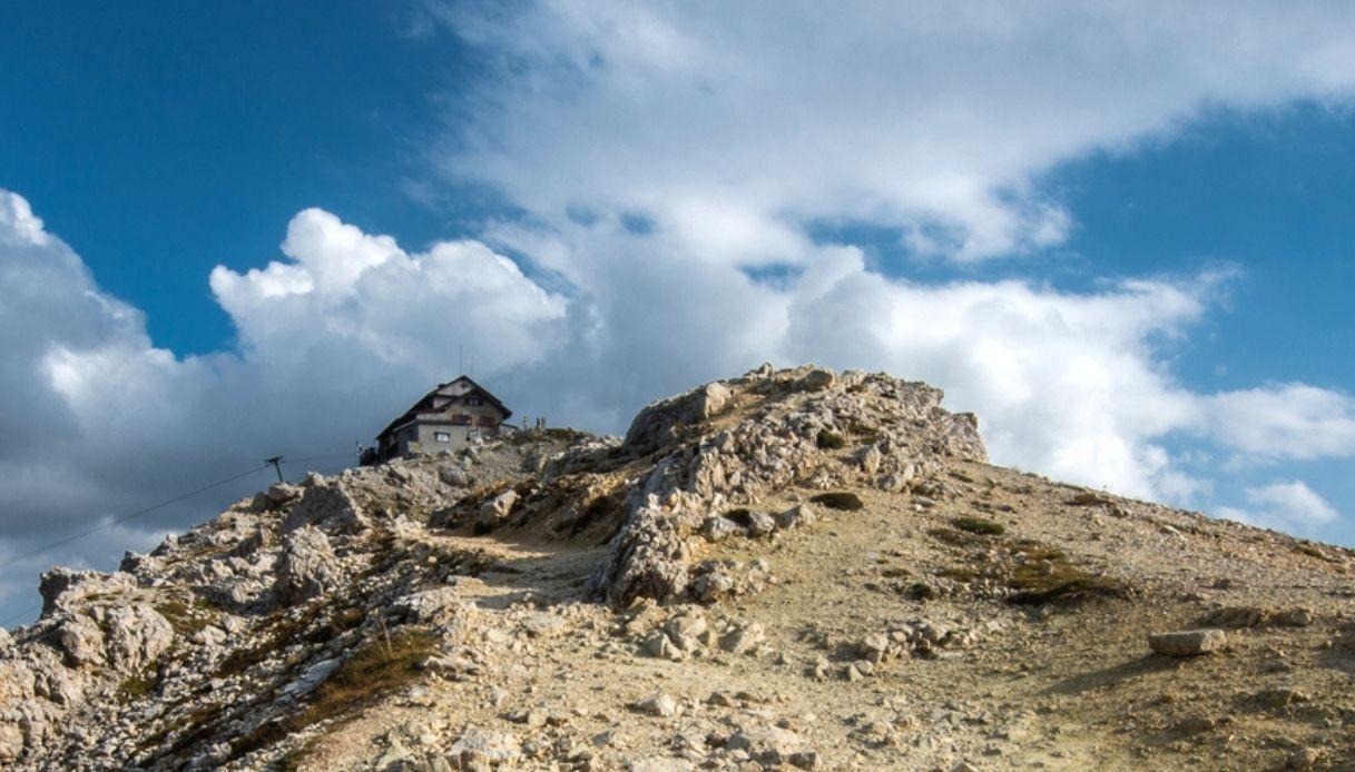 Il Rifugio Nuvolau Cortina d'Ampezzo