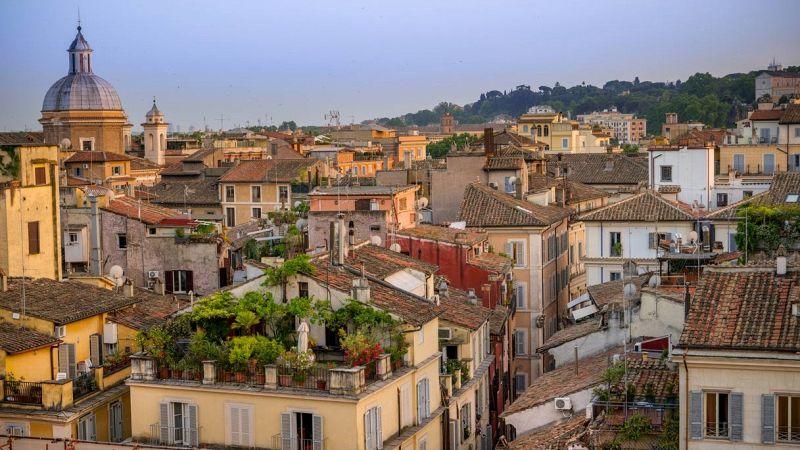 Roma vista panoramica