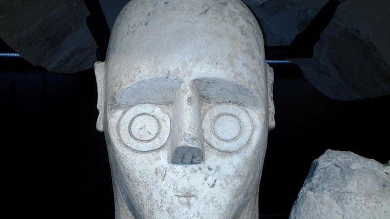 Statue Giganti Cabras